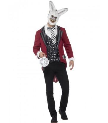 Deluxe White Rabbit Costume