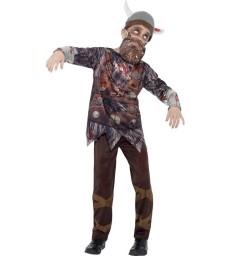 Deluxe Zombie Pirate Captain Costume