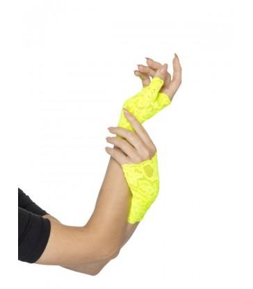 80s Fingerless Lace Gloves3