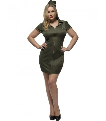 Fever Curves Army Costume