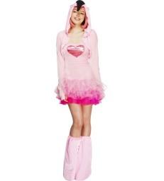Fever Flamingo Costume, Tutu Dress