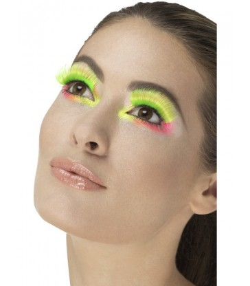 80s Party Eyelashes2