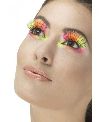 80s Party Eyelashes5
