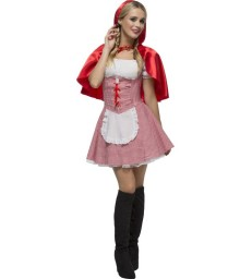 Fever Role-Play French Maid Wet Look Costume