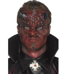 Foam Latex Devil Head Prosthetic