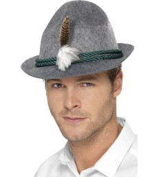 German Trenker Hat with Feather