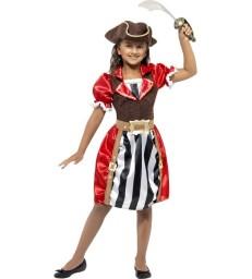 Girls Pirate Captain Costume