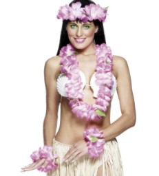 Hawaiian Set Pink