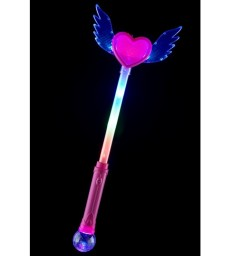 Heart Wand with Wings