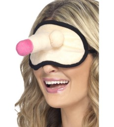 Hen Night Plush Willy Eyemask