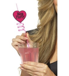 Hen Party Drinking Straws