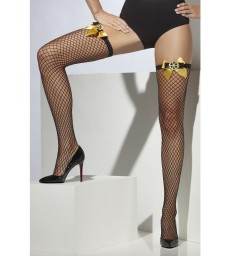 Lattice Net Steampunk Stockings