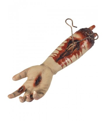Animated Gory Severed Arm Prop, Pulsating