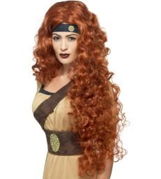Medieval Warrior Queen Wig