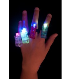 Multi Colour, Multi Flashing Finger Lights