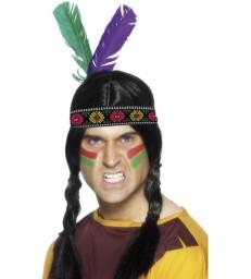 Native American Inspired Feathered Headband
