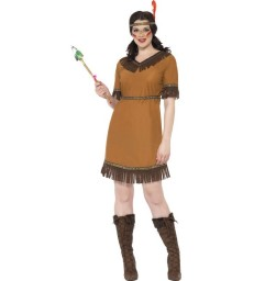 Native American Inspired Maiden Costume