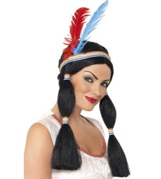 Native American Inspired Wig