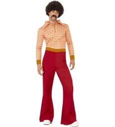 Authentic 70s Guy Costume