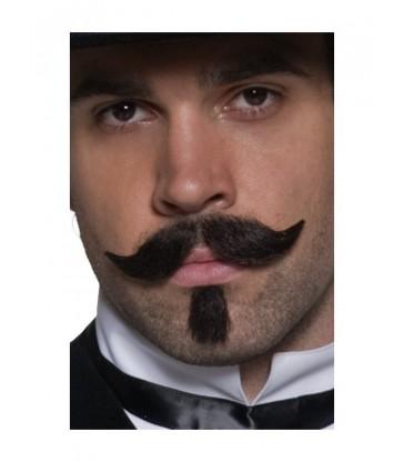 Authentic Western Gambler Moustache