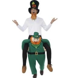 Piggyback Paddy's Leprechaun Costume