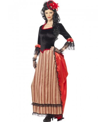 Authentic Western Town Sweetheart Costume