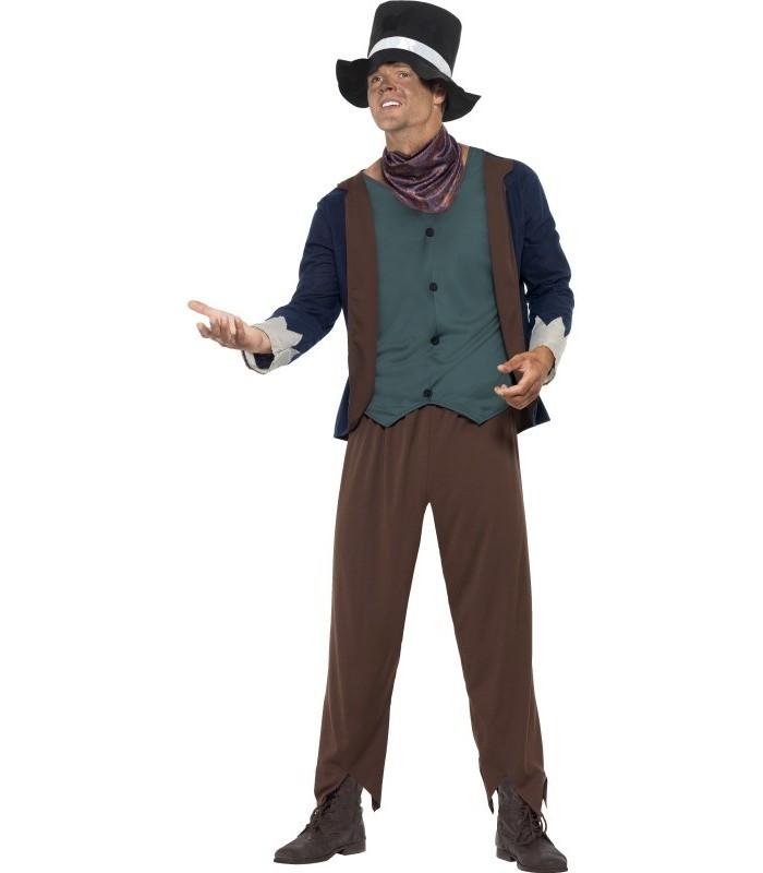 Poor Victorian Man Costume