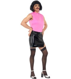 Rambo Costume, Muscle Top & Trousers