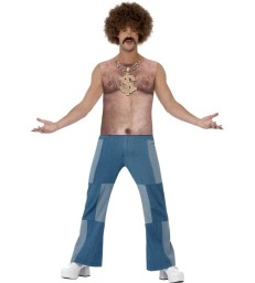 Realistic 70s Hairy Chest, Sleeveless Top