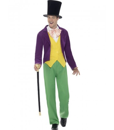 Roald Dahl Willy Wonka Costume2