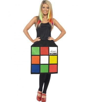 Rubik's Cube Costume2