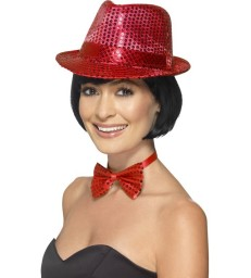 Sequin Trilby Hat5