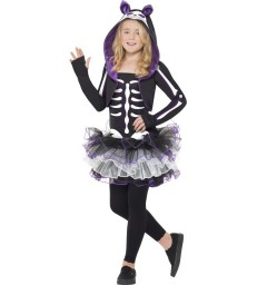 Skelly Cat Costume