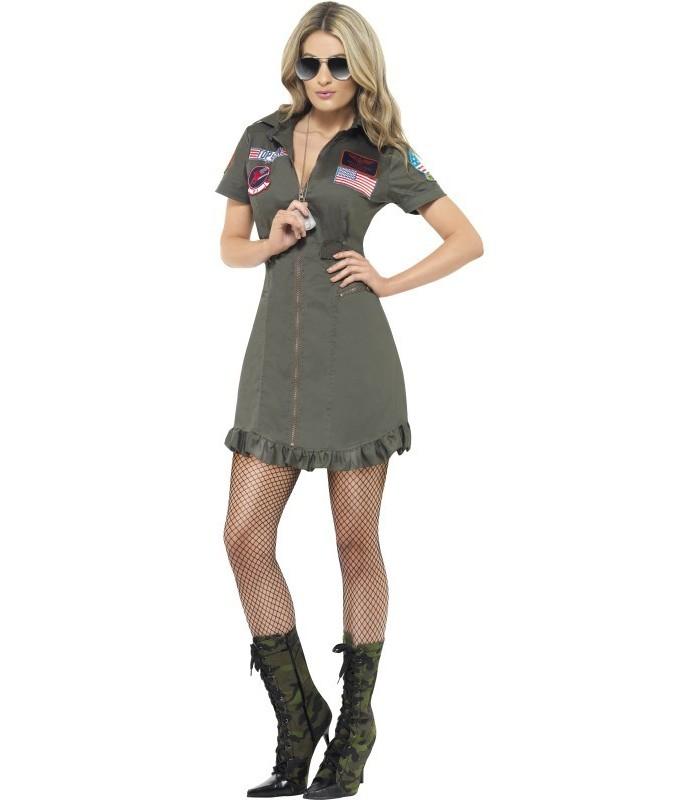 Top Gun Deluxe Ladies Costume