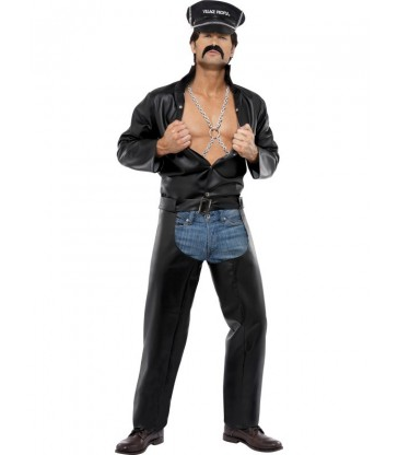Village People Biker Costume