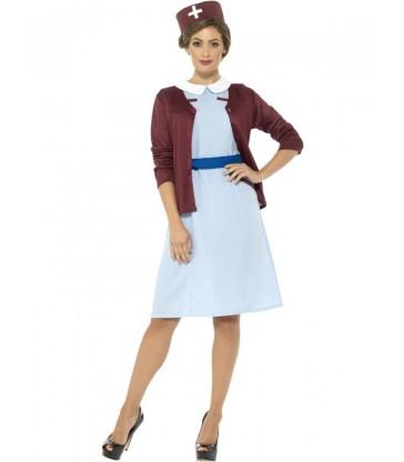 Vintage Nurse Costume2