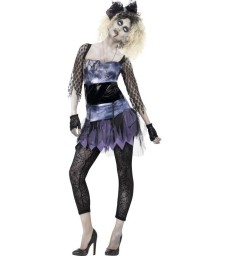 Zombie 80s Wild Child Costume