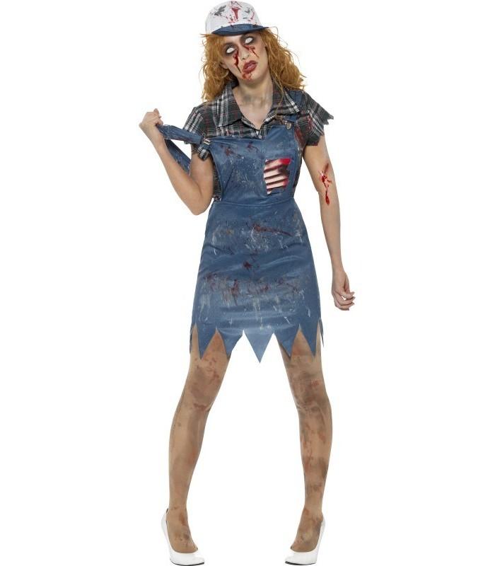 Zombie Hillbilly Costume, Female