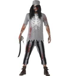 Zombie Pirate Costume