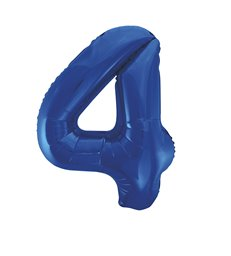 "34"" PKG BLUE GLITZ FOIL BALLOON-4"