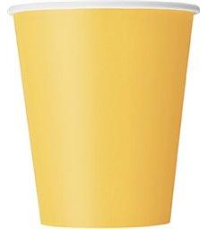 14 SUNFLOWER YELLOW 9OZ. CUPS