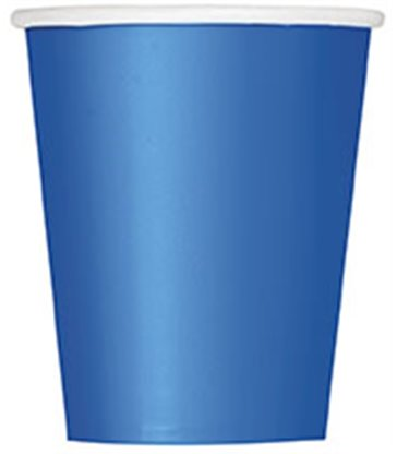 14 ROYAL BLUE 9 OZ. CUPS