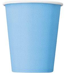 14 POWDER BLUE 9OZ CUPS