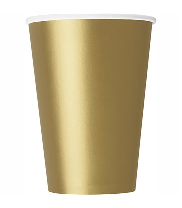 14 GOLD 9 OZ. CUPS