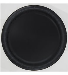 20 MIDNIGHT BLACK 7'' PLATES