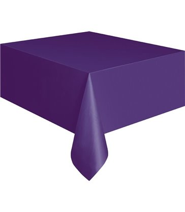 DEEP PURPLE TABLECOVER 54X108
