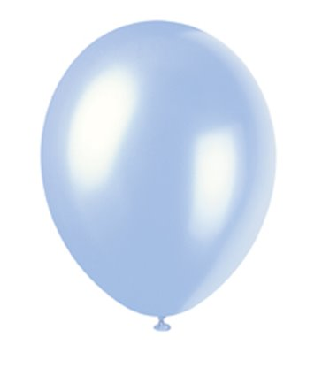 8 12'' PRL SKY BLUE BALLOONS