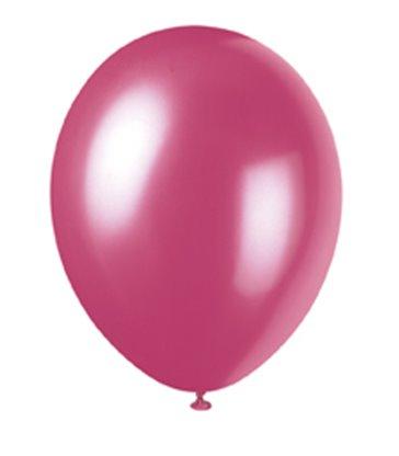 8 12'' PRL MISTY ROSE BALLOONS