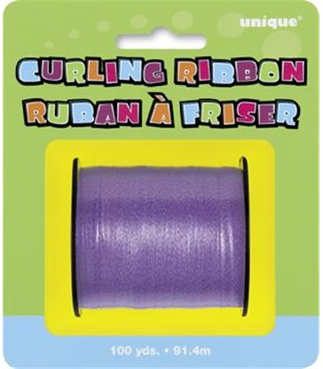 PURPLE CURLING RIBBON 100 YDS