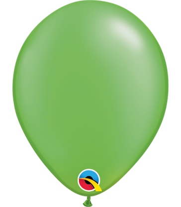 """Pearl Lime Green Pack of 100 5"""" latex balloons"""